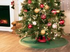 Christmas Tree Mat under Christmas tree in house BY WEATHERTECH