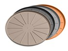 four coasters in different colors BY WEATHERTECH
