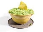 bowl of guacamole on a coaster BY WEATHERTECH