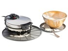 Waffle maker on coaster BY WEATHERTECH