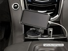Black CupFone Two View in Car with phone cord BY WEATHERTECH
