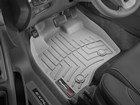 Gray first row FloorLiners in Ford Explorer.  BY WEATHERTECH