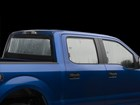SunShade full vehicle on a blue truck BY WEATHERTECH