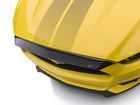 overhead view of Hood Protector on yellow car BY WEATHERTECH