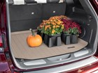 plant and pumpkins on a Cargo Liner BY WEATHERTECH