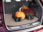 pumpkin and plants inside CargoTech BY WEATHERTECH