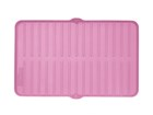 Overhead image of pink FlexTray. BY WEATHERTECH