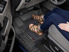 Sandals on a first row, driver side FloorLiner.  BY WEATHERTECH
