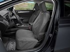 first row driver side black bucket Seat Protector BY WEATHERTECH