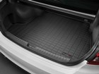 Cargo Liner installed in a white vehicle BY WEATHERTECH