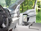 CupFone Two View in car console verical BY WEATHERTECH