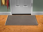 brown IndoorMat in front of door BY WEATHERTECH