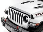 side view of a Hood Protector on a Jeep BY WEATHERTECH