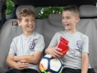 Kids_Soccer_Kia_Santa_Interior_2boys BY WEATHERTECH