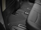 second row black All Weather Floor Mats in vehicle BY WEATHERTECH