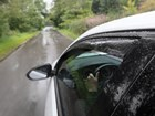 rain on Side Window Deflector BY WEATHERTECH