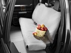 basket of apples on a grey Seat Protector BY WEATHERTECH