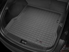 black Cargo Liner in a car BY WEATHERTECH