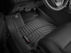 black FloorLiner in a vehicle BY WEATHERTECH
