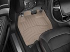 Tan_FloorLiner_HP_installed_in_a_vehicle. BY WEATHERTECH
