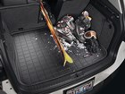 snow skis on a Cargo Liner BY WEATHERTECH