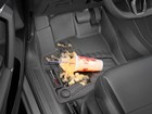 Slurpee spilled on a first row FloorLiner. BY WEATHERTECH