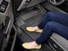 Woman with yellow shoes on_FloorLiner HP. BY WEATHERTECH