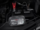 WeatherTech battery charger in use. BY WEATHERTECH