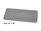 grey Boot Tray with dimensions BY WEATHERTECH