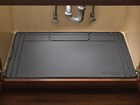 Black SinkMat in sink cabinet.  BY WEATHERTECH