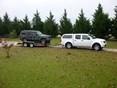 2012 Nissan Frontier Stone & Bug Deflector