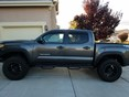 2017 Toyota Tacoma Side Window Deflectors