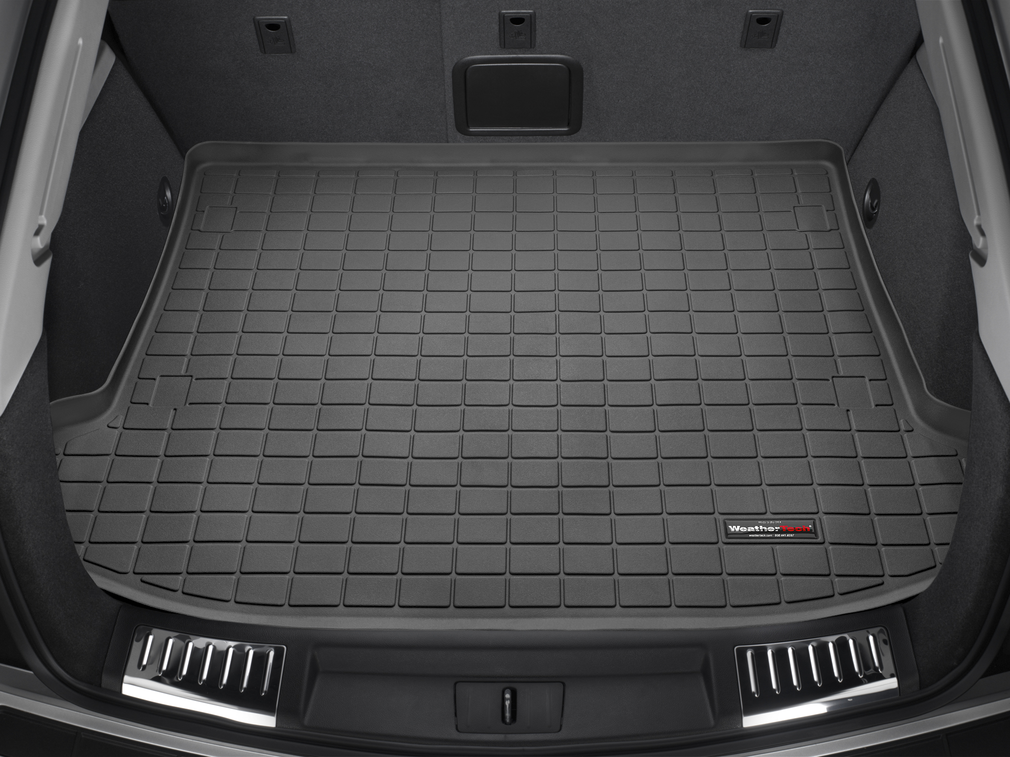 Cadillac SRX 2010>2016 Vasca proteggi baule tappeto bagagliaio nero *302