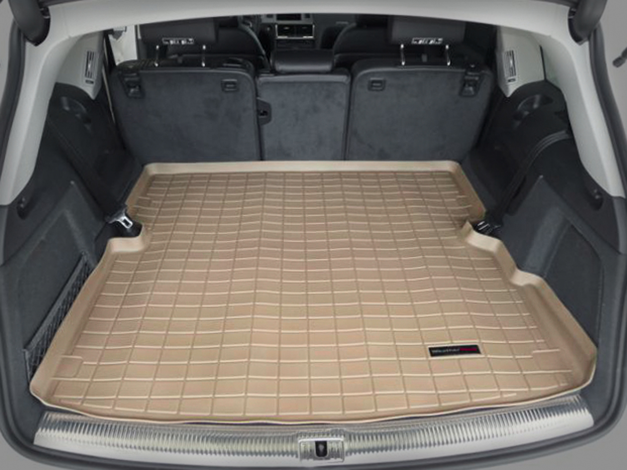 Audi Q7 2015>2015 Vasca proteggi baule tappeto bagagliaio marrone *116