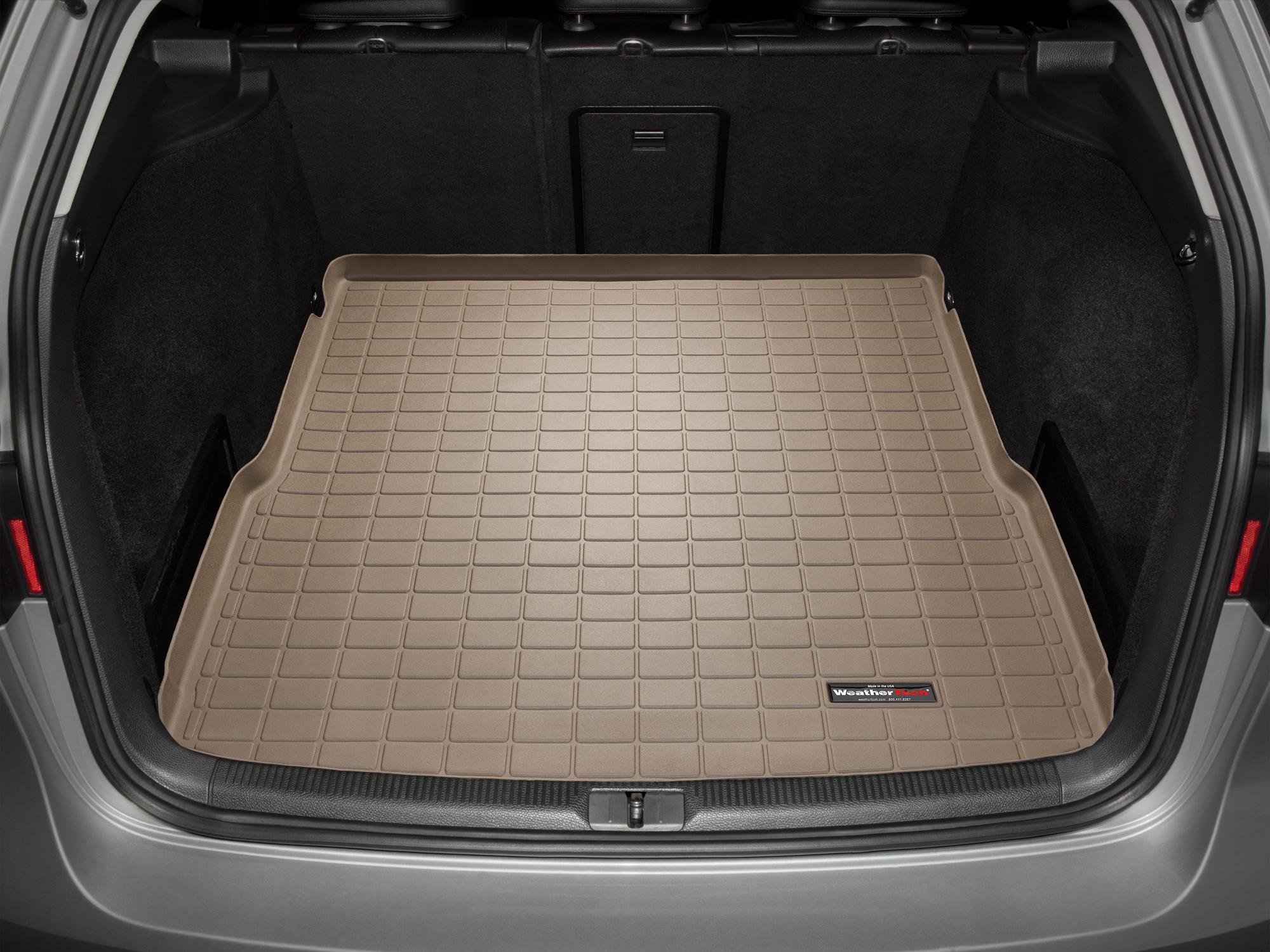 Volkswagen Passat 2014>2014 Vasca baule tappeto bagagliaio marrone *1406
