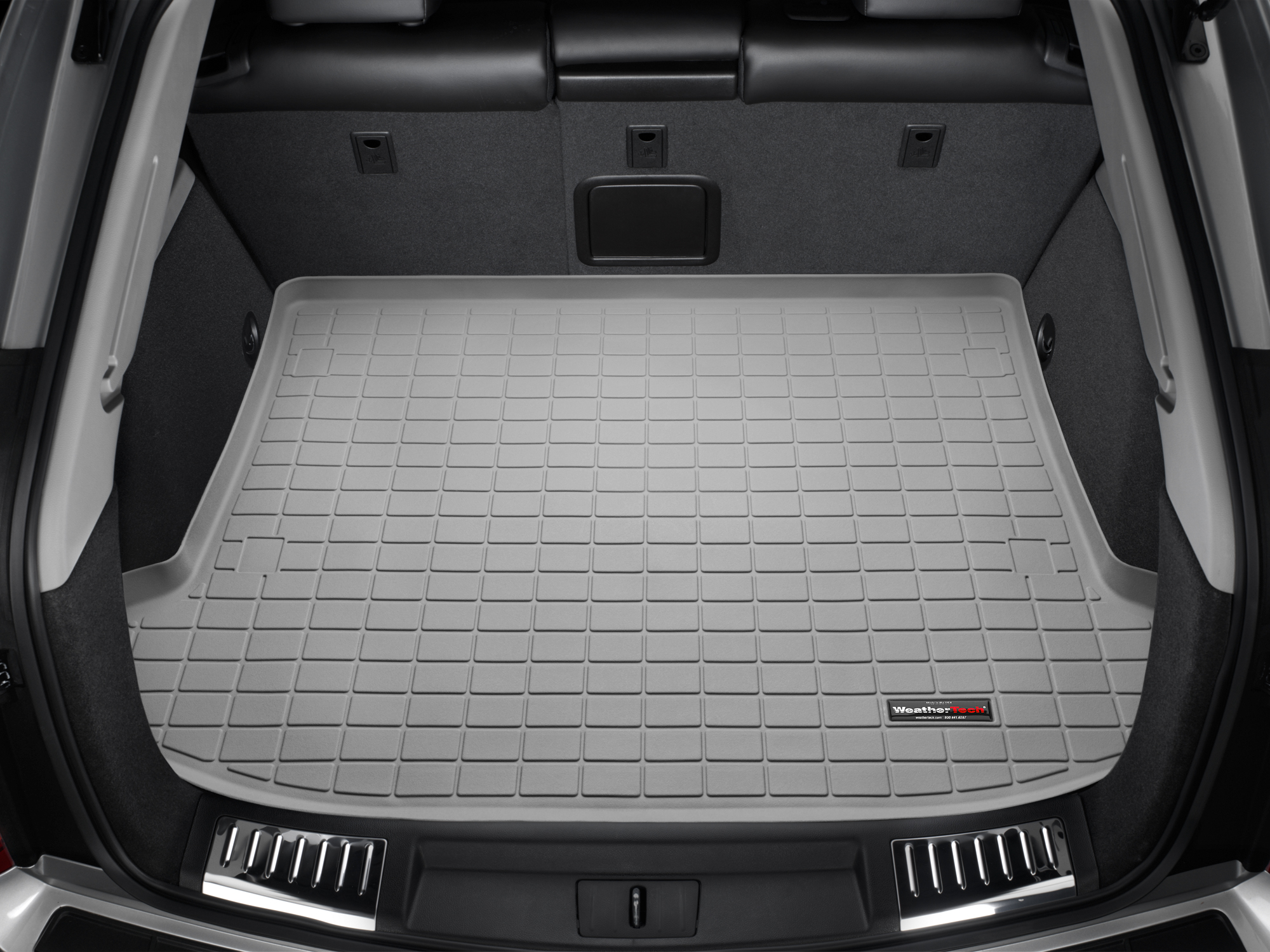 Cadillac SRX 2010>2016 Vasca proteggi baule bagagliaio grigio *300*