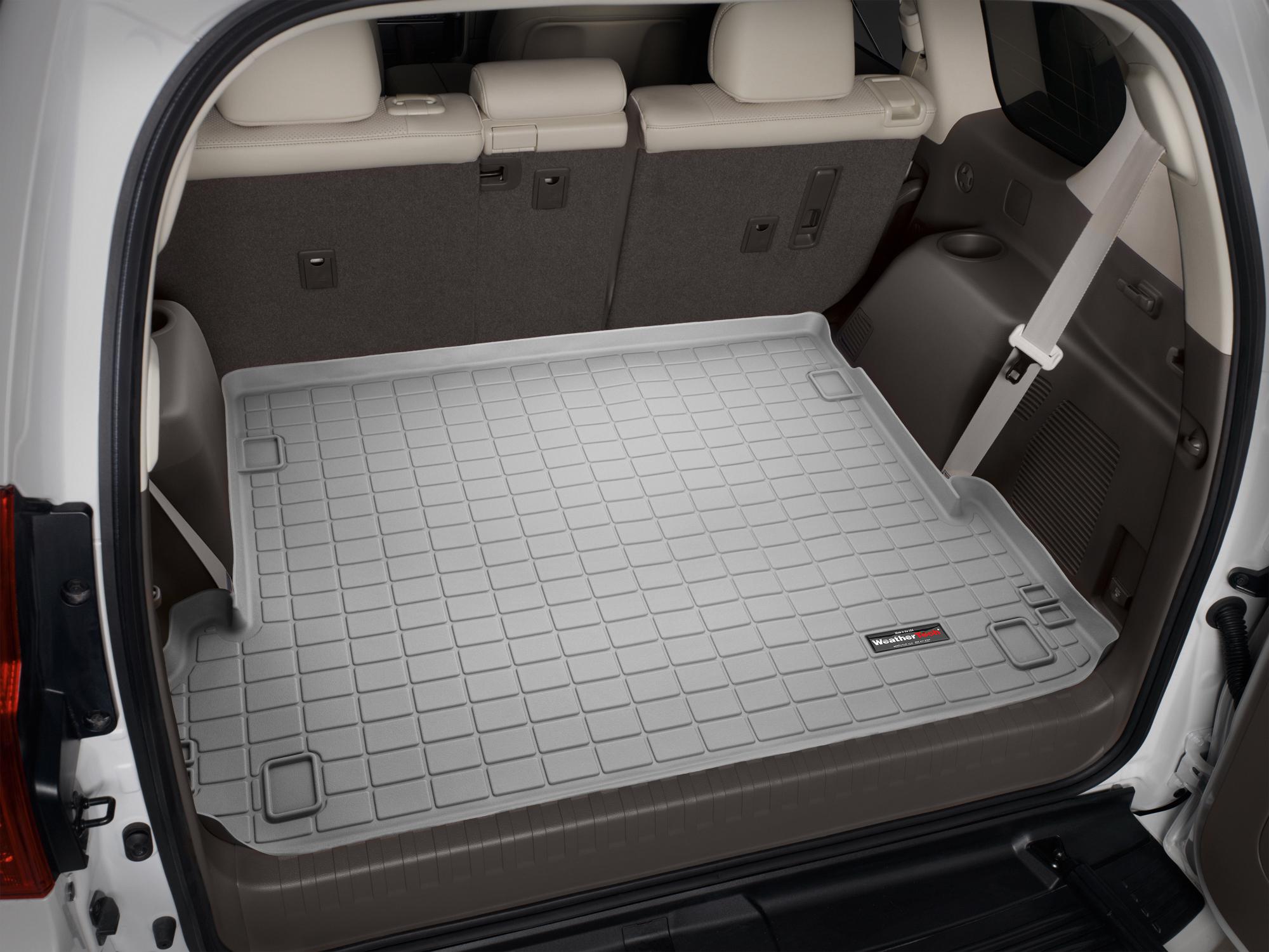 Toyota Land Cruiser 150 2010>2017 Vasca baule tappeto bagagliaio grigio *1239