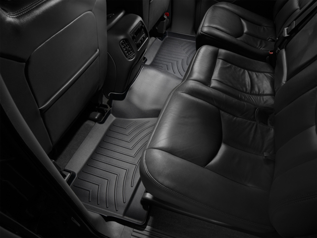 Tappeti gomma su misura bordo alto Cadillac Escalade ESV 03>06 Nero A39*