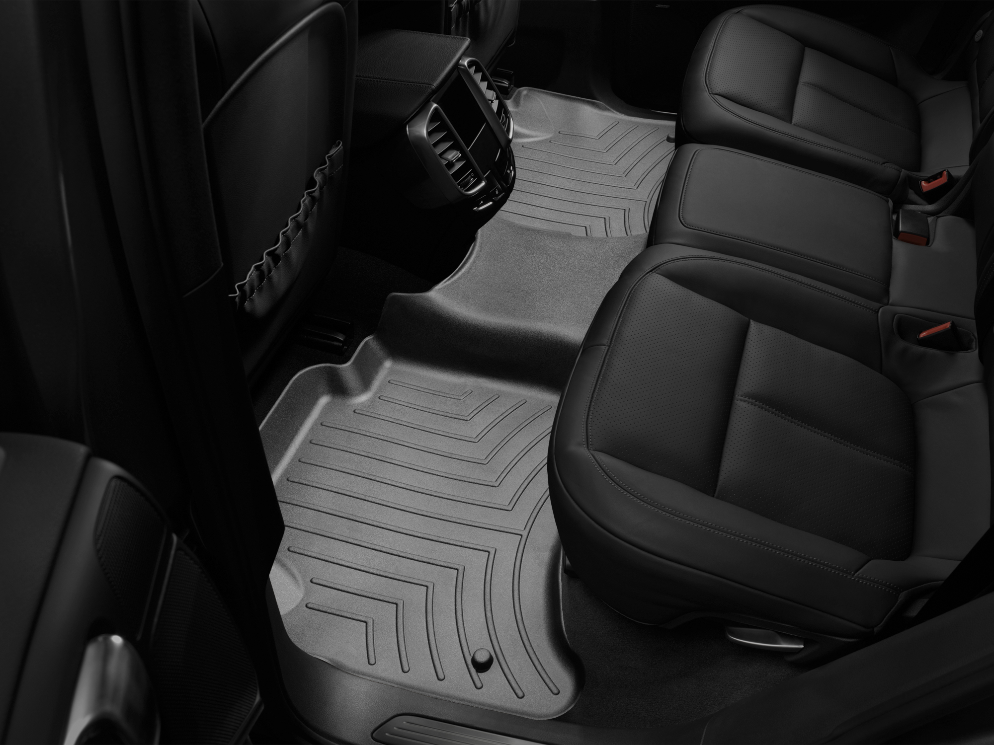 Tappeti gomma su misura bordo alto Volkswagen Touareg 10>10 Nero A4325*