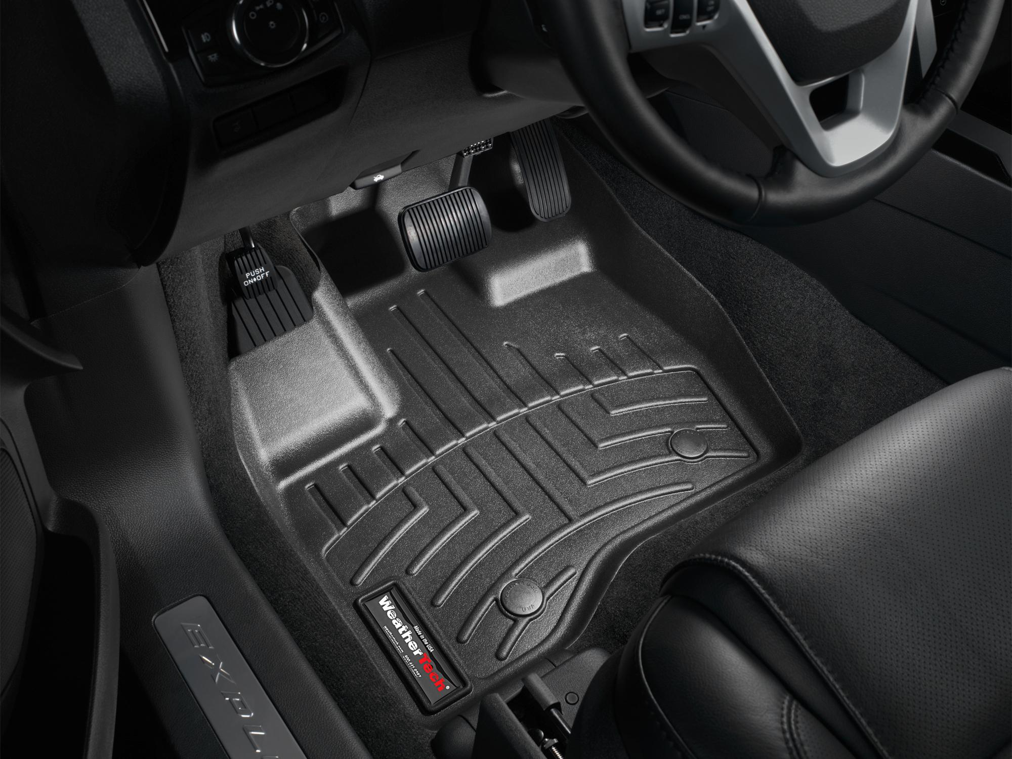 Tappeti gomma su misura bordo alto Ford Explorer 11>14 Nero A867*