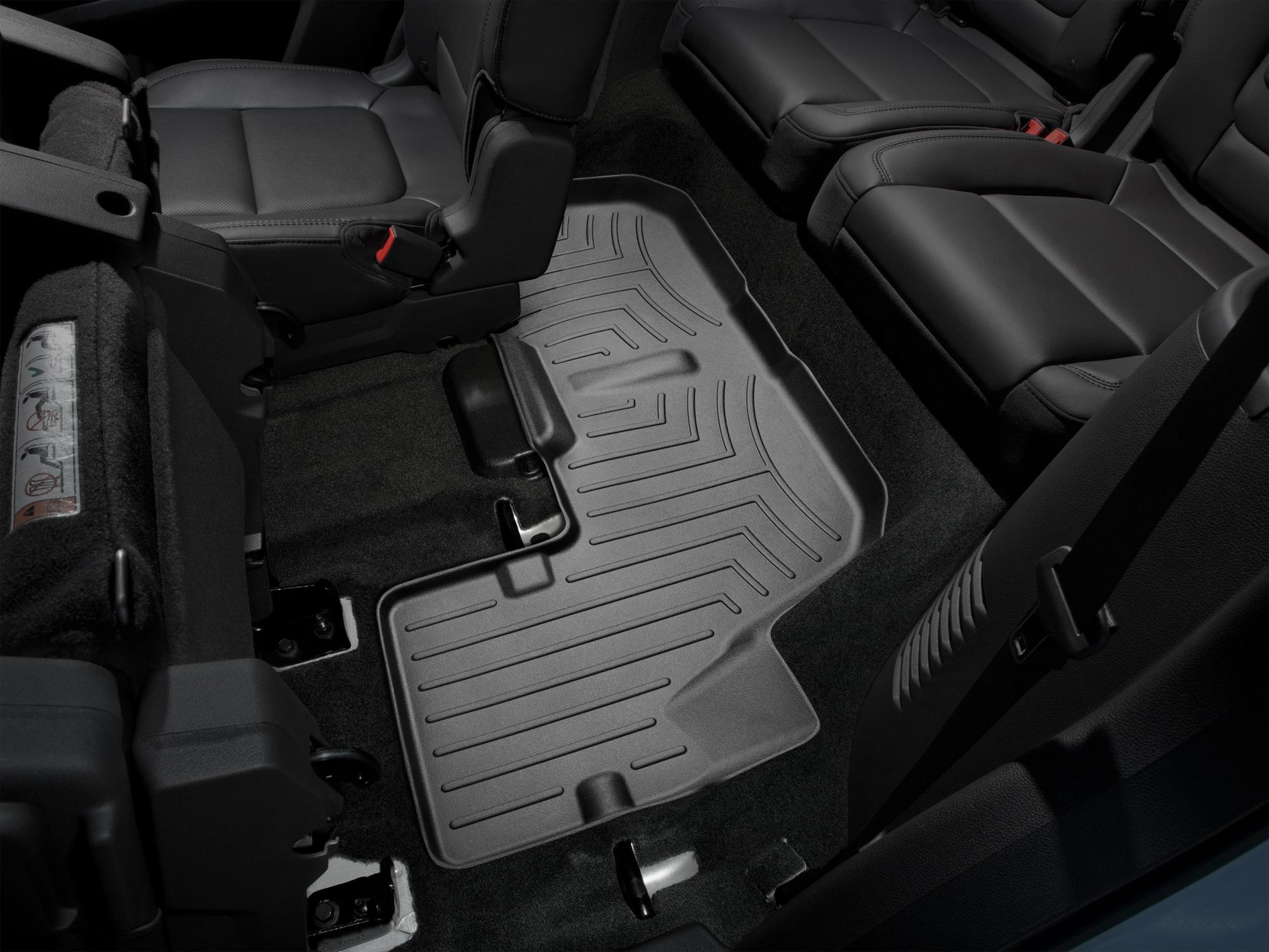 Tappeti gomma su misura bordo alto Ford Explorer 11>17 Nero A878*