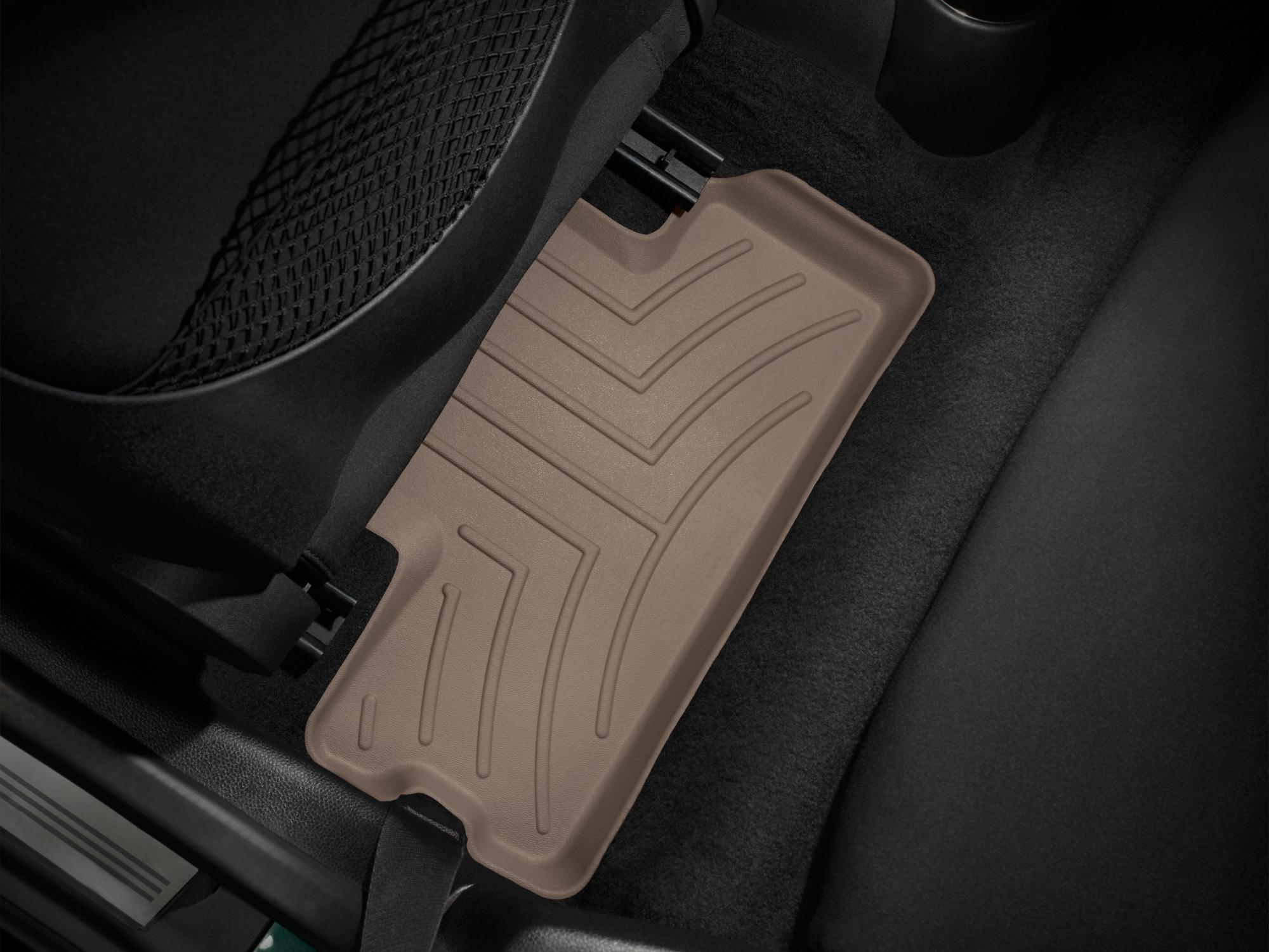 Tappeti gomma su misura bordo alto MINI Cooper / Cooper S 02>13 Marrone A2669*