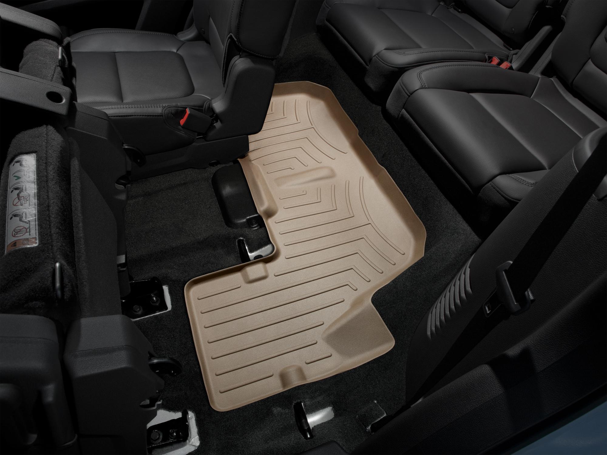Tappeti gomma su misura bordo alto Ford Explorer 11>17 Marrone A875*