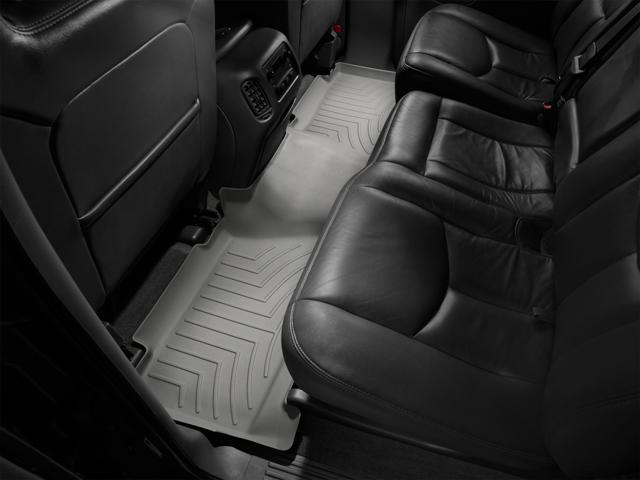 Tappeti gomma su misura bordo alto Chevrolet Avalanche 02>06 Grigio A86*