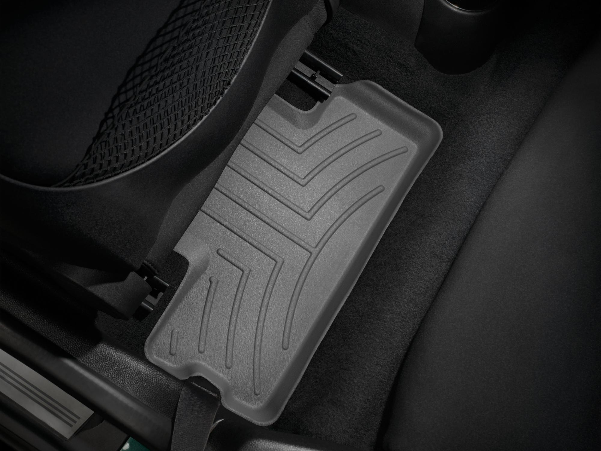 Tappeti gomma su misura bordo alto MINI Coupe 12>15 Grigio A2704