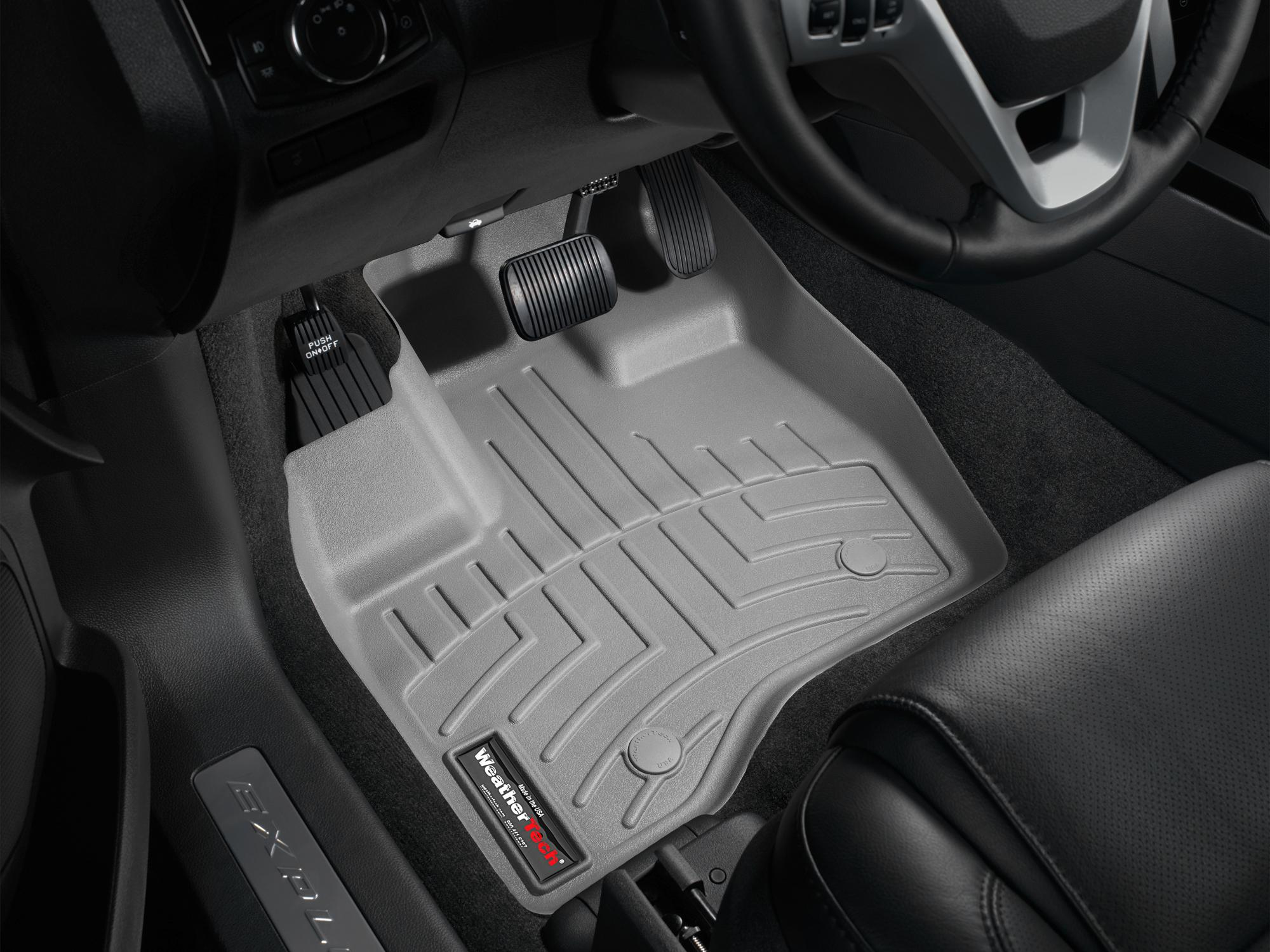 Tappeti gomma su misura bordo alto Ford Explorer 11>14 Grigio A861*