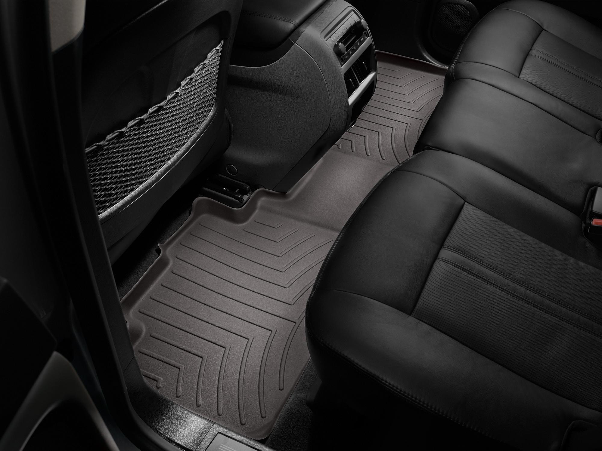Tappeti gomma su misura bordo alto Cadillac SRX 12>12 Cacao A81*