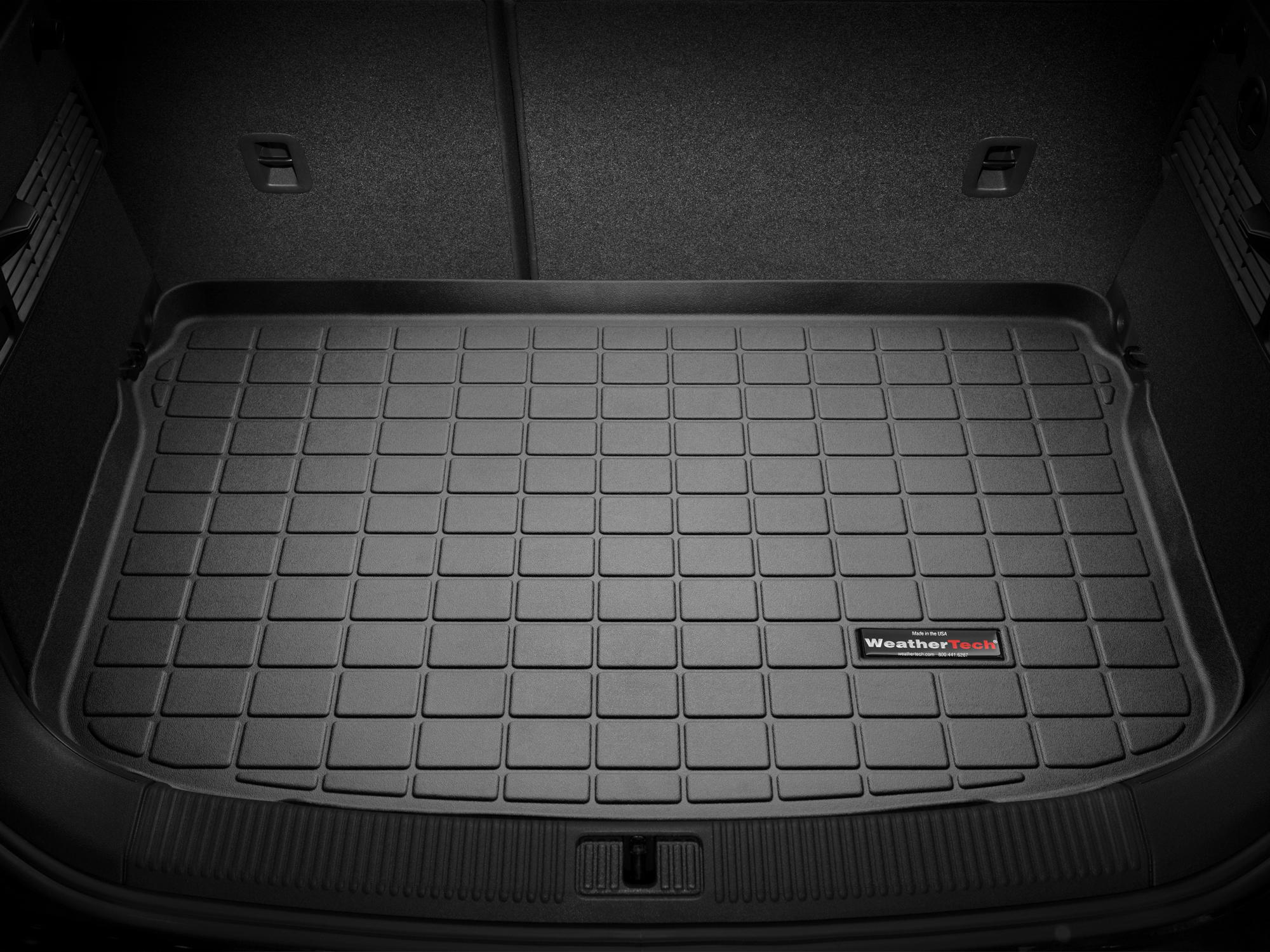 Audi A1 2010>2017 Vasca proteggi baule tappeto bagagliaio nero *10