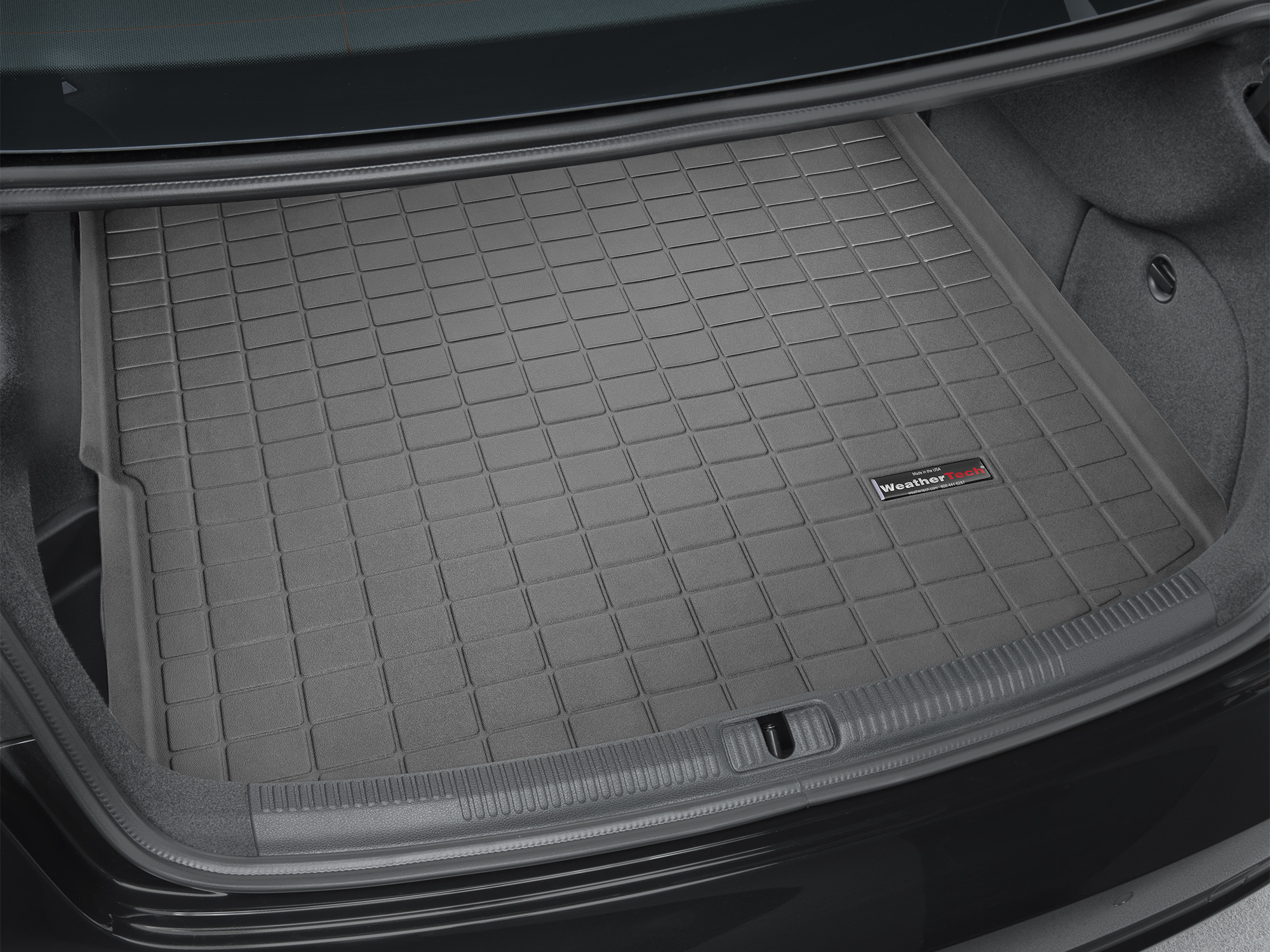 Audi A3 S3 2013>2017 Vasca proteggi baule tappeto bagagliaio nero *19