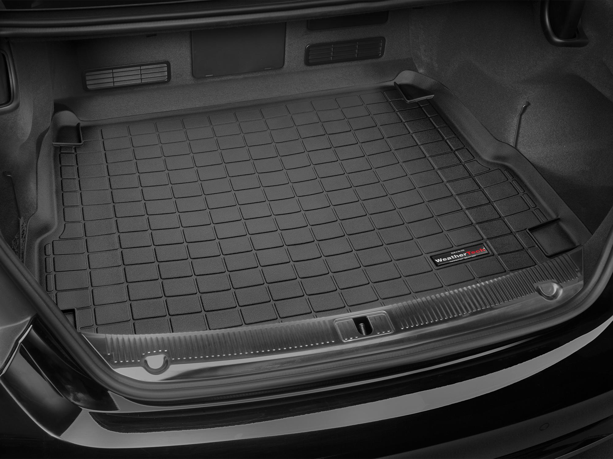 Audi A8 S8 2010>2010 Vasca proteggi baule tappeto bagagliaio nero *85